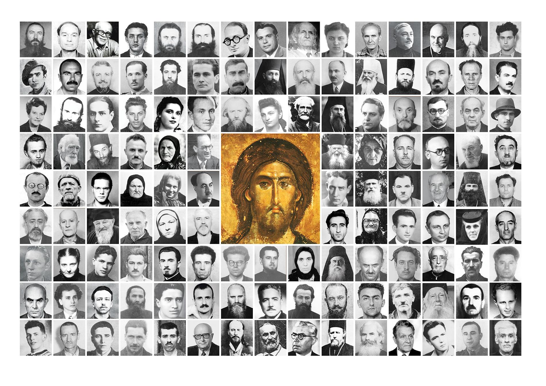 Marturisitori si martiri cu Hristos in temnita ALB