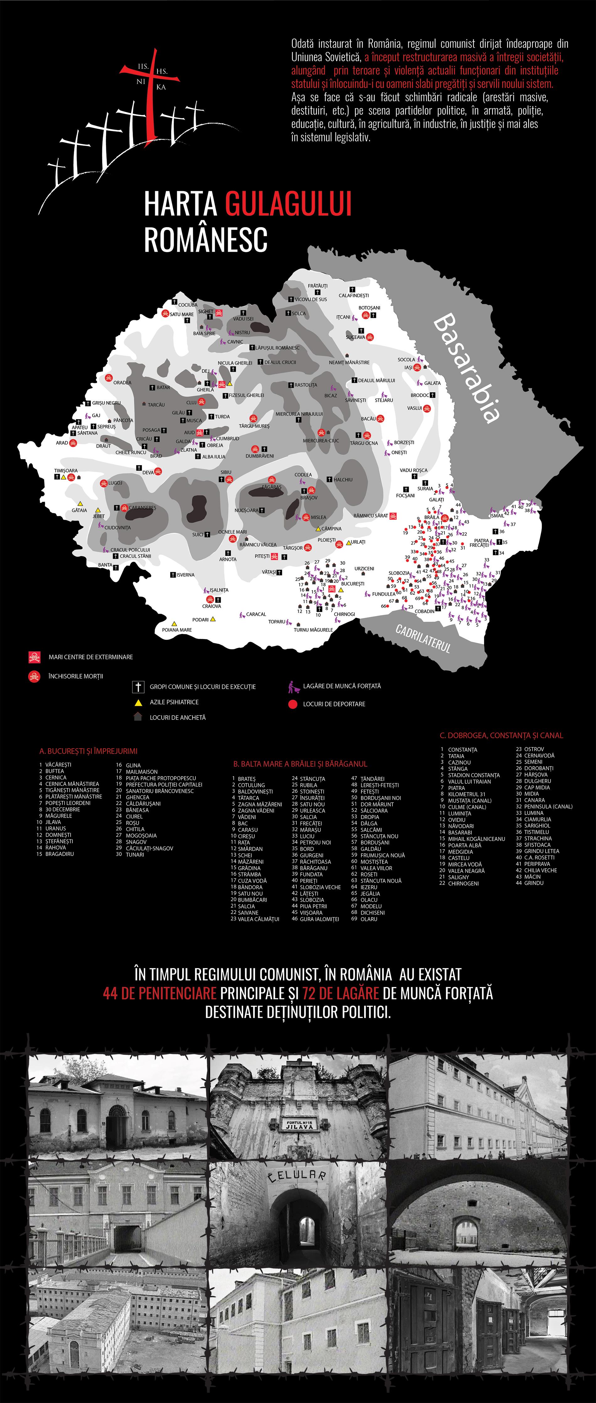 Harta Gulagului Românesc - Bannerul 06 - Caravana Eroilor
