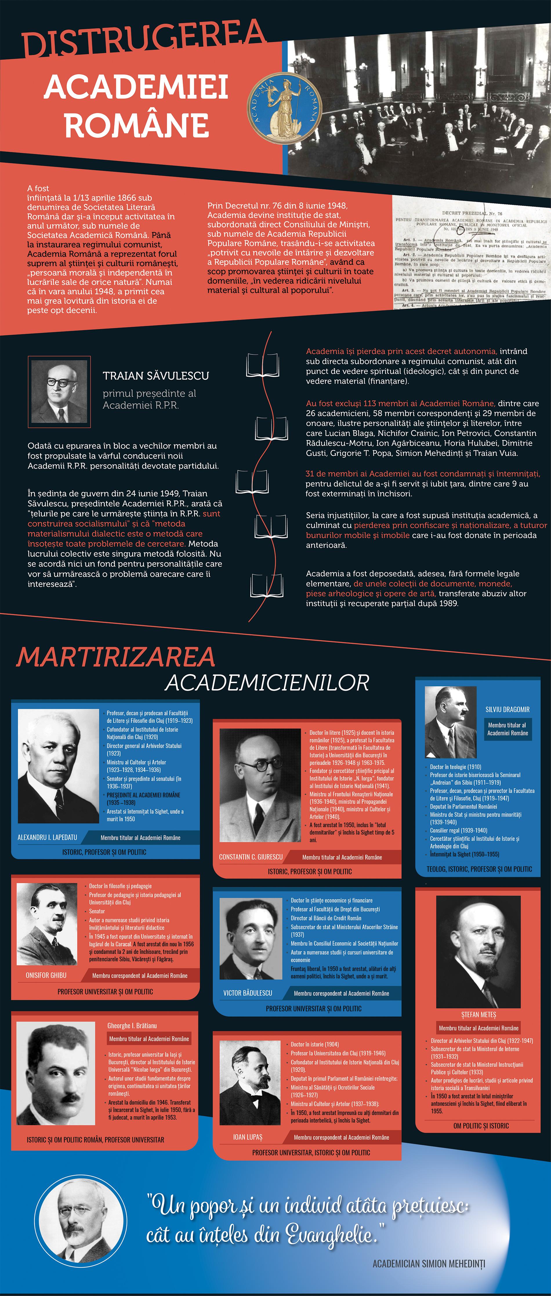 Distrugerea Academiei Române - Bannerul 13 - Caravana Eroilor