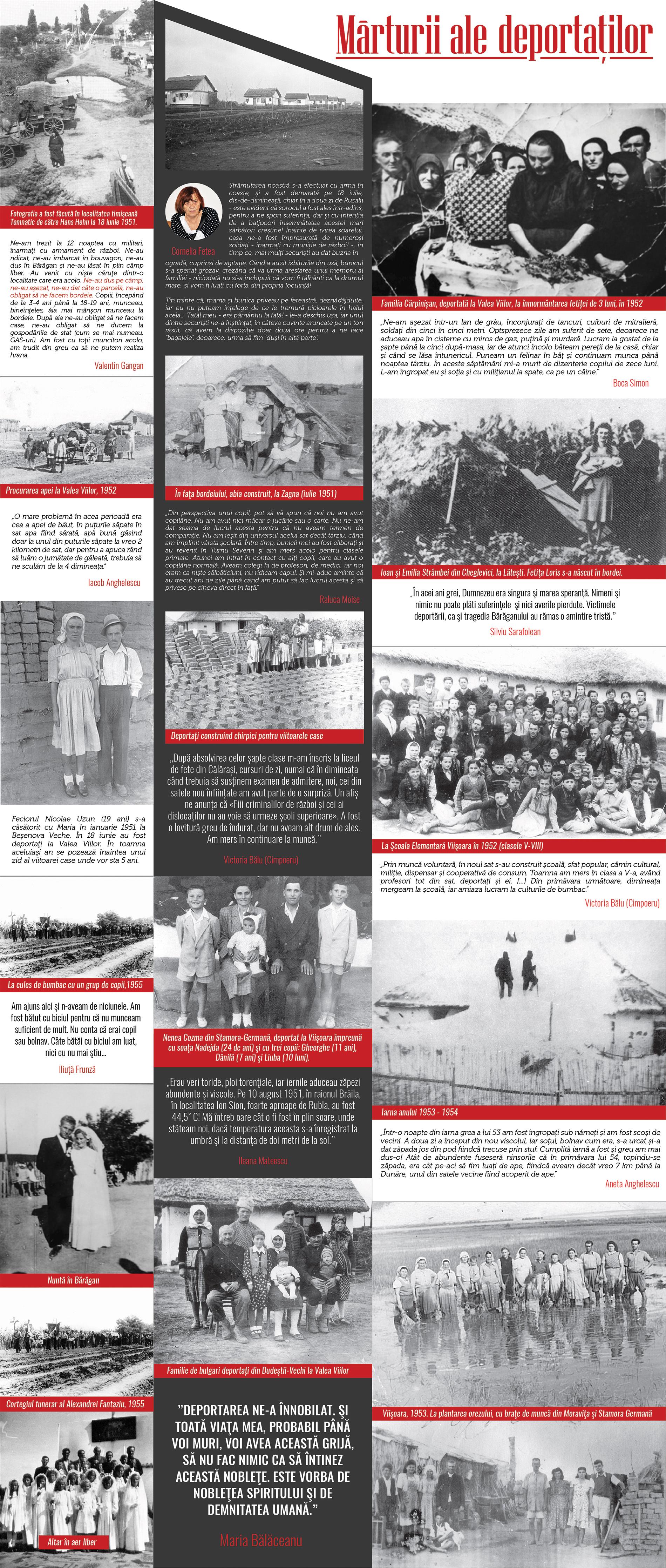 Mărturii ale deportaților - Bannerul 21 - Caravana Eroilor